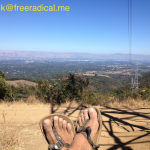 Top of PG&E Trail with my Luna Sandals