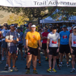 Starting Line of Diablo Trail Half Marathon