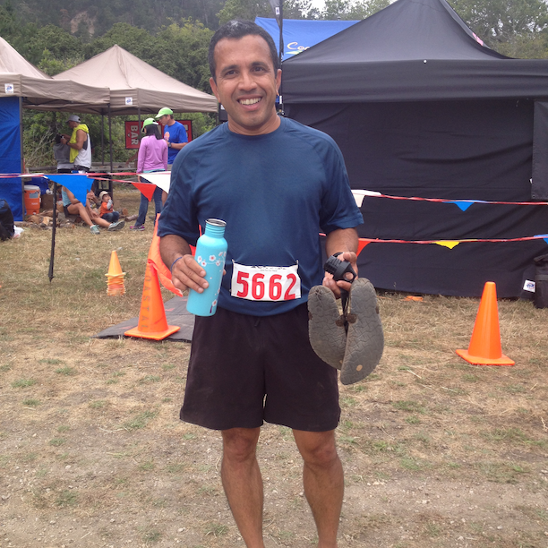 Big Basin 50K Finish