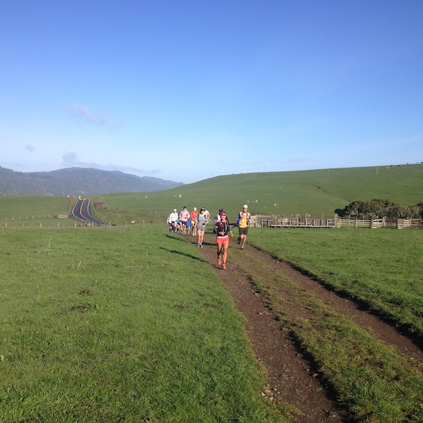 Coastal Marin 50K is off to a start